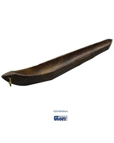 Grande canoa in legno (12)