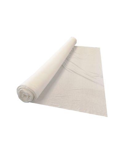 Maglina in cotone bianca elasticizzata jersey unito maglia