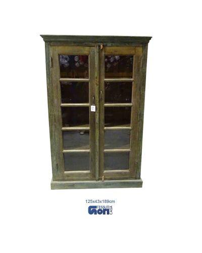 Grande vetrina in legno (31)