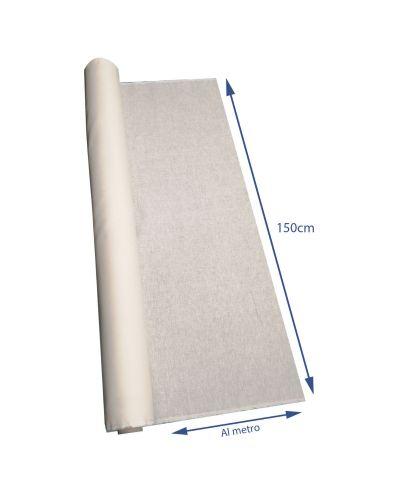 puro lino in tinta unita bianco per tende semi trasparente 150cm