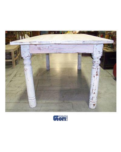 Tavolo bianco in legno