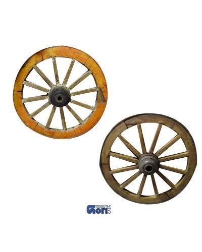 ruote antico carro